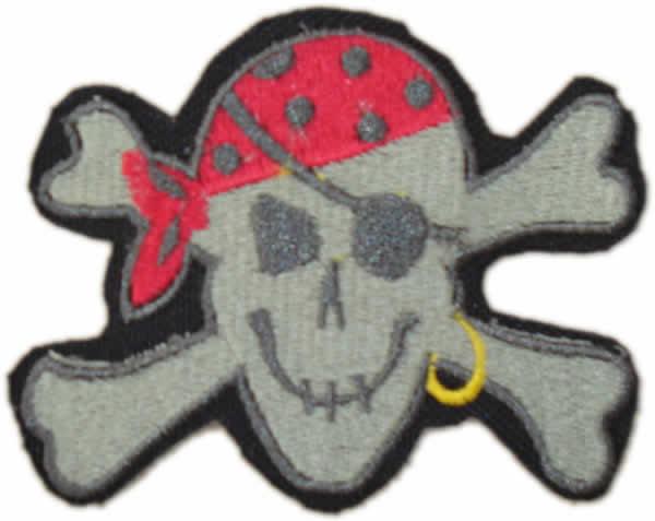 Calavera de piratas - Imagui